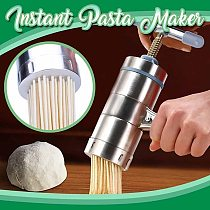 Manual Stainless Steel Noodle Maker Press Pasta Machine Crank Cutter Fruits Juicer Cookware Making Spaghetti Kitchen Tools#G
