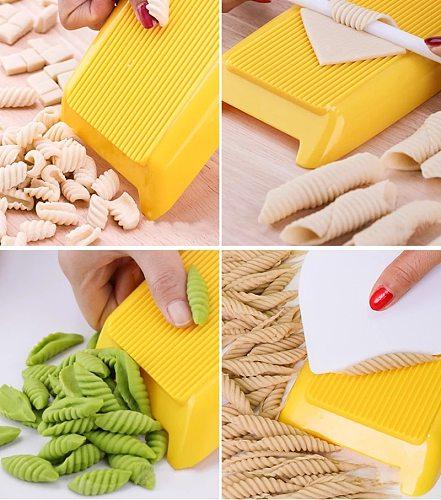 3Pcs Plastic Spaghetti Macaroni Maker Home Manual Pasta Maker Noodle Machine DIY Macaroni Making Planchette Mold Kitchen Tools