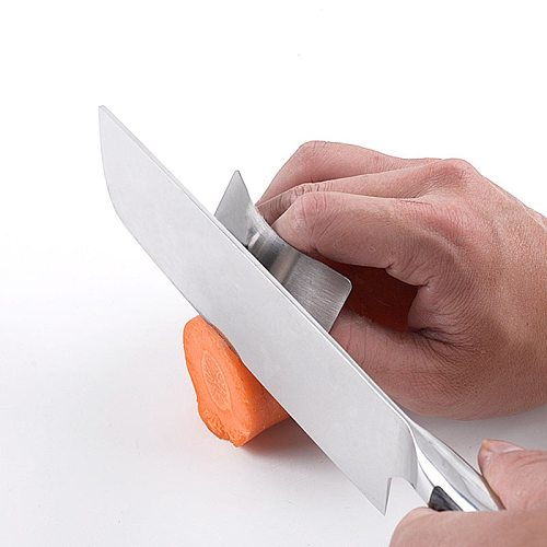 Kitchen Finger Safe Protector Stainless Steel Cutting Vegetable Self Protection Tool Knife Not To Hurt Hand Guard Cooking Gadget