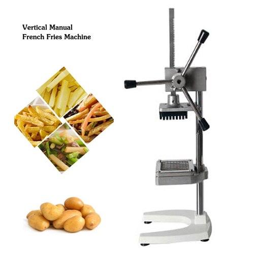 Restaurant Manual French Fry Cutters Potato Slicer Vegetable Fruit Cutting Machine Kitchen Chopper 6mm/9mm/13mm Blades