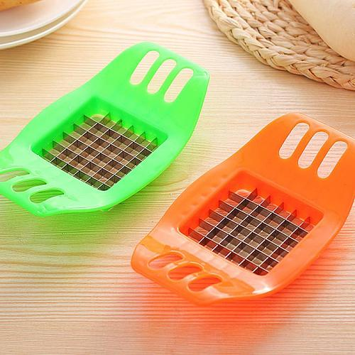 Manual Pressed French Fries Cutter Potato Carrot Slicer Chopper Fruit Vegetable Strip Salad Maker Kitchen Cutting Tool