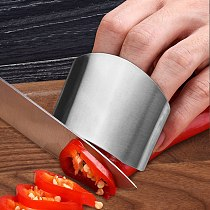 4PCs Knife Cutting Vegetables Protection Stainless Steel Kitchen Finger Protector Hand Cut Guard Knife Tool Kitchen Accessories