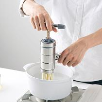 Newest Stainless Steel Manual Noodle Maker Household Pastas Making Machine Presse Spaetzle Maker With Different Molds