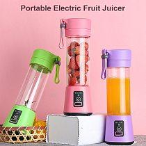 Portable USB Mixer Electric Fruit Juicer Handheld Juice Maker Blender Stirring Rechargeable Mini Food Processor Juice Cup