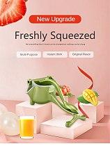 Manual Juice Squeezer  Orange Lemon Sugar Cane Juice Kitchen Fruit Tool Aluminum Alloy Hand Pressure Juicer