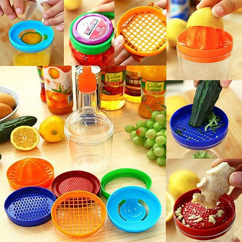 8 in 1 Kitchen Tool Set juicer manual Vegetable garlic Cutter Slicer egg separator Bottle Can Opener Egg Cutter Bottle