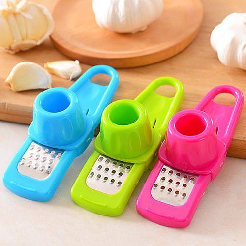 Garlic press multi-function garlic grinder mini grinder planer planing machine meat cutting machine kitchen accessories
