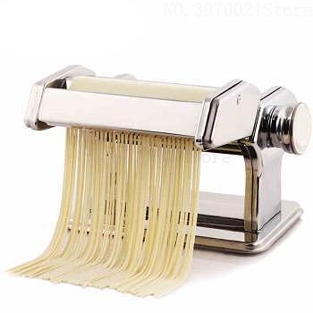 Large Multi-function Manual Noodle Machine Household Split Noodle Maker Stainless Steel Hand Pressure Dumpling Cover Machine