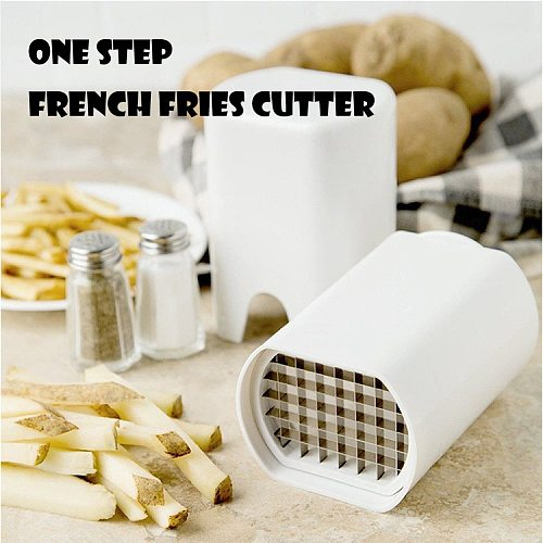 One step French fries cutter, a sharp tool for making French fries, and a multifunctional vegetable cutter