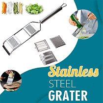 3-in-1 Multi-Purpose Vegetable Slicer Stainless Steel Fruit Potato Peeler Grater Shredders Food Chopper Cutter Kitchen Tools