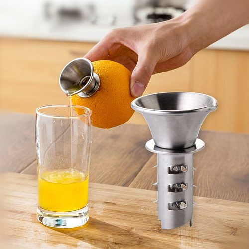 Manual Stainless Steel Lemon Squeezer Orange Juicer Fruit Vegetable Tools Kitchen Gadgets Accessories High Quality