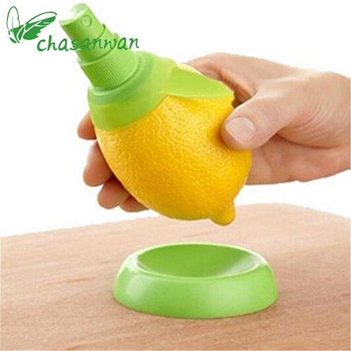 2Pcs/set Creative Lemon Sprayer Fruit Juice Citrus Lime Juicer Spritzer Kitchen Gadgets Spray Fresh Fruit Juice for kitchen.b