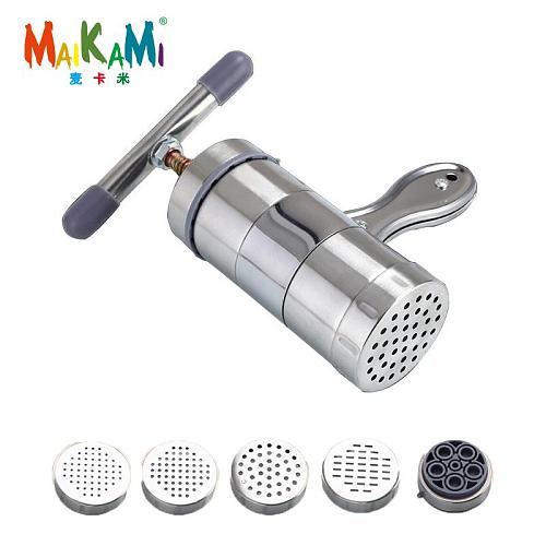 Manual Stainless Steel Noodle Maker Press Pasta Machine Crank Cutter Fruits Juicer Cookware Making Spaghetti Kitchen Tools