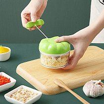 Manual Garlic Press 170ML Meat Vegetable Cutter Stirring Garlic Chopper Garlic Crusher Grinder Kitchen Gadgets