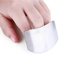 1 Pcs Finger Guard Protect Finger Hand Cut Hand Protector Knife Cut Finger Protection Tool Stainless Steel Kitchen Tool Gadgets