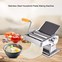 Manual Noodle Maker Stainless Steel Household Pasta Making Machine Handmade Noodle Machine Spaghetti Hand Cutter