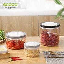 ECOCO Garlic Cutter Food Processor Shredder Manual Meat Grinder Fruit Vegetavle Kitchen Safe and Durable Blender Mixer Tool