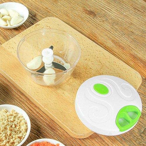 Vegetable And Fruit Mincer Manual Meat Grinder Mincer Garlic Shredder Multifunctional Garlic Press Vegetable Slicer