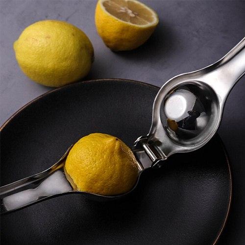 Lemon Squeezer Fruits Juice Orange Hand Manual Juicer Fast Handle Press Stainless Steel Multifunctional Juicing Kitchen Tools