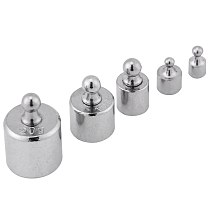 Accurate Calibration Weight Set Chrome Plated 1-20g Digital Balance Pocket Scales Precision Weight Set For Home Kitchen Tool