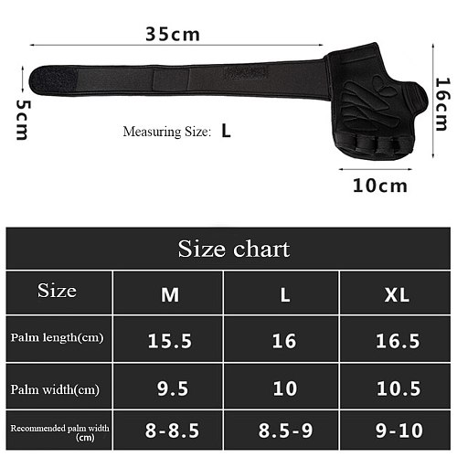 Half Finger Gym Fitness Gloves Hand Palm Protector with Wrist Wrap Support Crossfit Workout Power Weight Lifting gym gloves