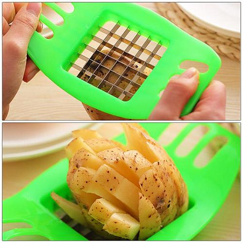 Manual French Fry Cutter Slicer Food Processors Accessories Multifunctional Potato Chopper Cheese Slicer Kitchen Gadgets Tool