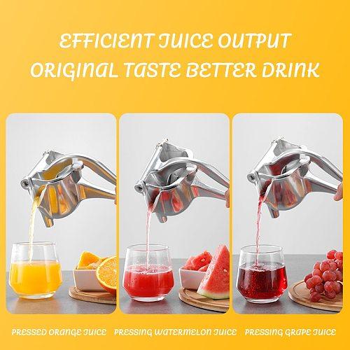 Fruit Juice Squeezer Manual Aluminum Alloy Kitchen Accessories Hand Pressure Juicer Pomegranate Orange Lemon Sugar Cane Juice Ki