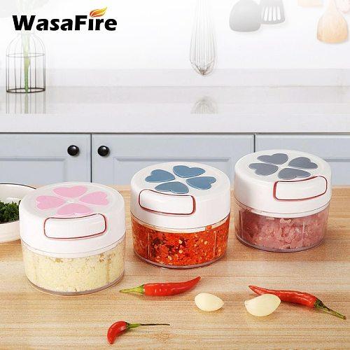 Multi-Function Garlic Masher Manual Meat Shredder Mincer Hand Pull Vegetable Chopper Fruit Grinder Kitchen Gadgets