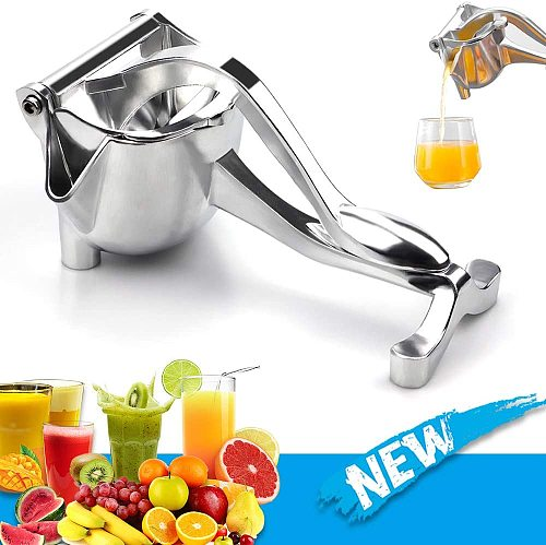 Useful Manual Juice Squeezer Aluminum Alloy Hand Pressure Juicer Pomegranate Orange Lemon Sugar Cane Juice Kitchen Fruit Tool
