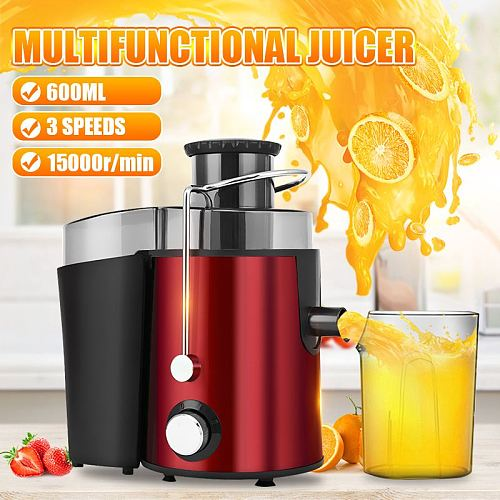 250W 220V Electric Juicer Stainless Steel Juicers Fruit Vegetable Food-Blender Mixer Extractor Machine 2 Speed Adjustment
