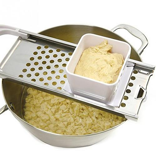 Pasta Spaetzle Maker Blades Noodle Cooking Tools Accessories Manual Kitchen Stainless Steel Dumpling