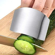 New stainless steel kitchen tool hand finger protection knife cut slice safety protection personal safety easy-cut cooking tools