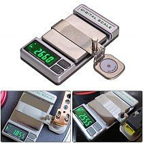Professional High Precise Digital Turntable Force Scale Gauge Arm Load LCD Backlight 0.005/100g For LP Vinyl Record Needle