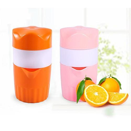 300ml Portable Manual Juicer Reamer Fruit Squeezer Mini Lemon Citrus Juicer Extractor for Home Healthy Hand Lemon Orange Juicer