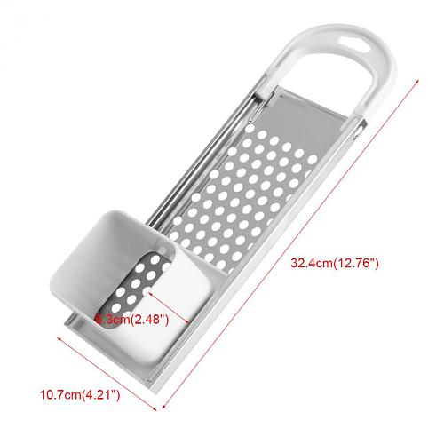 Stainless Steel Spaetzle Maker With Safety Pusher Dumpling Noodle Manual Pasta Maker Machine Pasta Making Kitchen Gadgets Tool