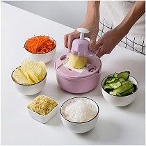11Pcs Grater Multi Functional Vegetable Cutter tools Potato Peeler grater for carrots Slicer finger protector Kitchen tools