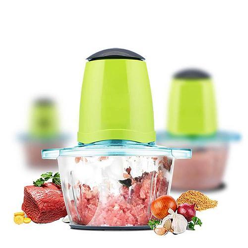 2L Electric Kitchen Food Chopper Shredder Meat Grinder Multifunctional Household Food Processor Meat Kitchen Blender Chopper