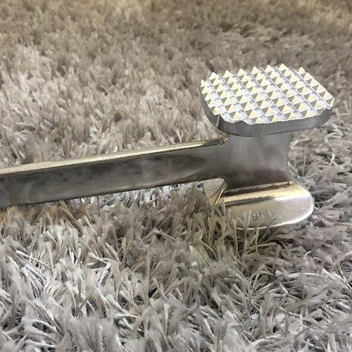 Beef beat tender hammer steak hammer home kitchen stainless steel knock loose mace Aluminum meat hammer