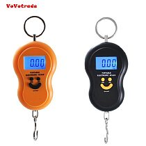 Portable 50kg/5g LCD Digital Fish Hanging Weight Hook Scale Drop Shipping And Wholesale New Electronic Weight Scale Kitchen Tool