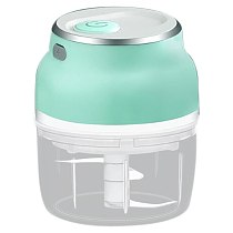 Electric Mini Food Garlic Vegetable Chopper Grinder Press for Nut Meat Fruit Rechargeable Onion Multi-Function Processor