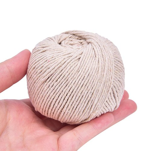 New Butcher's Cotton Twine Meat Prep Trussing Turkey Barbecue Strings Meat Sausage Tie Rope Cord 75m Cooking Tools