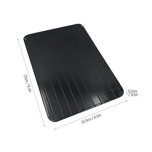 Quick Defrosting Plate Board Fast Defrosting Tray Frozen Food Meat Steak Thaw Master Kitchen Tool plaque de decongelation rapide