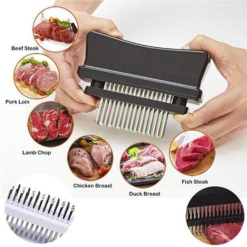 48 Blades Needle Practical Meat Tenderizer Meat Beef Steak Mallet