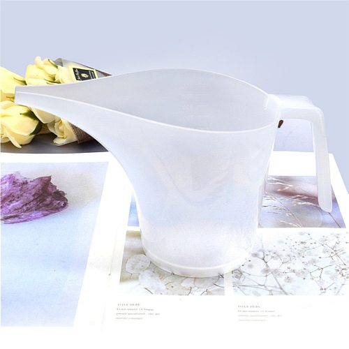 1L Thicken Tip Mouth Plastic Measuring Jug Cup Graduated Surface Cooking Kitchen Bakery Bake Ware Liquid Measure Baking Tools