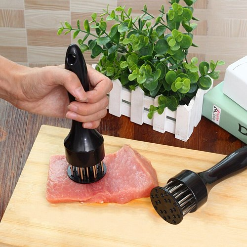1 PC New Kitchen Tools Profession Meat Tenderizer gadgets Needle With Stainless Steel Kitchen Tools Accessories