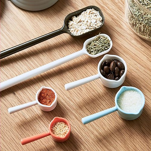 Japan Imported AS Resin Measuring Spoons Cups Measuring Set Tools for Baking Coffee Kitchen Accessories
