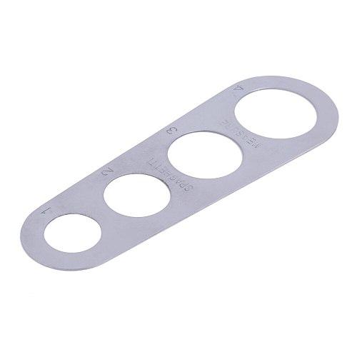 Stainless Steel Pasta Spaghetti Measurer Measure Tool Kitchen Gadget Durable
