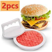 Hamburger Press Kitchen Hamburger Grill BBQ Burger Mold Tools Round Shape Meat Beef Maker Patty Mould Press Poultry Tools