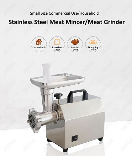TC5/TC7 Electric Meat Grinder Stainless Steel Meat Grinder Mincer Sausage Stuffer Stainless Steel Blade and Plate