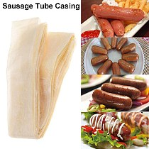 50mm Edible Sausage Casings Packaging Pork Intestine For Sausage Tube Casing for Sausage Hot Dog Hamburger Sausage Tools